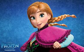Anna, Frozen, Movies, 2013, Disney