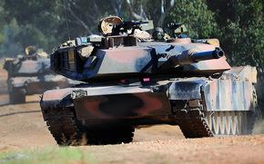 battle, tank, Abrams, Tank