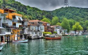 Maisons à Anadolu Kavagi, Istanbul, ville