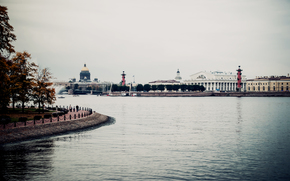 Russia, spb, river, petersburg, Neva, Peter, embankment