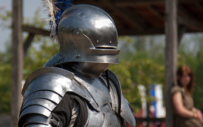 armor, knight, helmet, warrior, metal