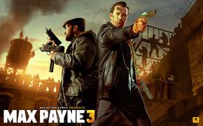 fucile mitragliatore, arma, Lotta Made in Heaven, folla, automatico, Desert Eagle, Raul Passos, Max Payne