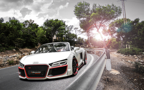 диски, блик, поворот, обвес, Audi