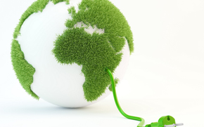 CORD, VEGETATION, white, greens, GREEN, wire, fork, grass, land, background, ball, area, planet