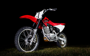 Honda CRF 150F, red, motocross