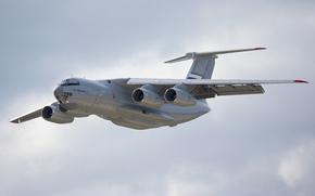 военно-транспортный, полет, самолёт, тяжёлый, российский