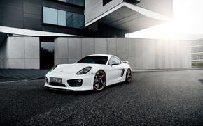Porsche, Porsche, sintonizzazione, bianco