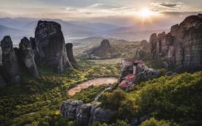 UNESCO, Meteors, Griechenland, Kloster, Weltkulturerbe