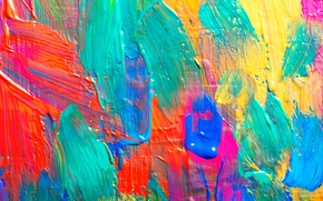 мазки, текстура, краска