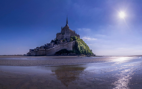 Mont Saint-Michel, UNESCO, France, World Heritage, island-fortress