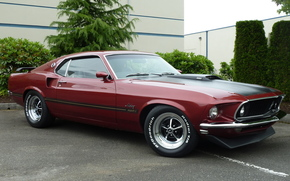 mustang, ford, ford, muscle car