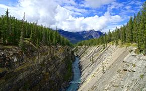 Siffleur峡谷, 落基山脉, 加拿大