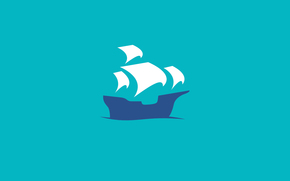 enviar, Piratas, cielo, navegar, pez vela, mar