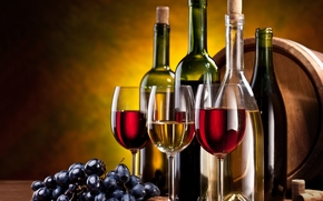 grapes, wine, Bottle, stemware, bunch, red, White, Tube, nuts