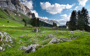 Alpi svizzere, Svizzera, Germania, Austria, Liechtenstein