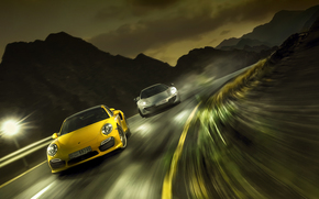 Race, Porsche, speed