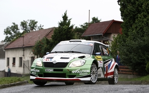 Other brands, road, Competitions, hood, Fabius, city, Skoda, LIGHTS, Rally
