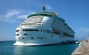 Schiffe, versenden, Transport, Liner, Kreuzfahrtschiff, parahod, versenden, Motorschiff