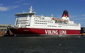 Schiffe, versenden, Transport, Liner, Kreuzfahrtschiff, parahod, versenden, Motorschiff, Port