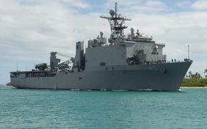 statek, statek, krążownik, niszczyciel, zwykle, transport