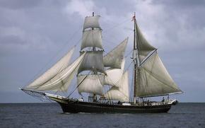 statek, parusnik.yahta, statek, zwykle