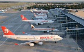 Самолёты, авиация.аэропорт, лайнер, самолёт, боинг