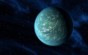 pianeta, spazio, fantasia, Stella