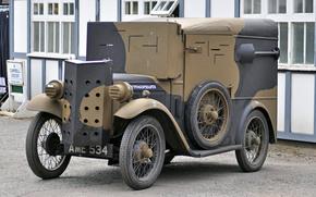 бронеавтомобиль, мировой, «Остин», войны, Первой, легкий