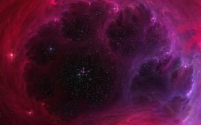espacio, cielo, zvyzdy