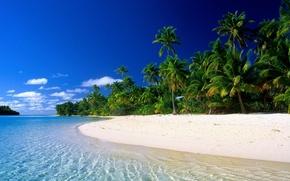 landscapes, nature, sea, ocean, palmy.plyazh, recreation