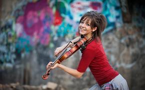 violin, Lindsey Stirling, beauty