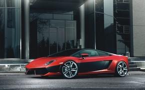 Lamborghini, Lamborghini, red, Gallardo