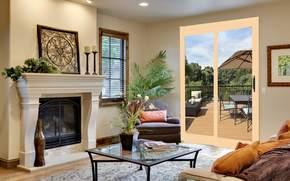 style, villa, room, home, terrace, interior, design