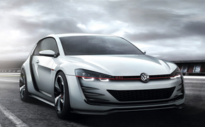 Frontale, Car, carta da parati, macchina, Volkswagen