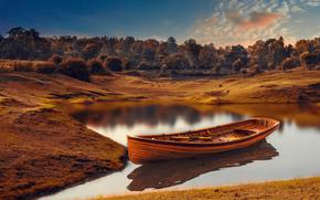 lavorazione, imbarcazione, fiume