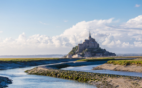 Normandía, Francia, paisaje