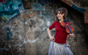 красавица, Линдси Стирлинг, скрипка