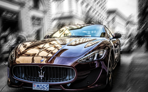 city, degradation, Maserati