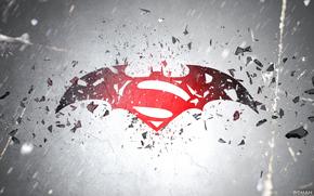 Offiziersbursche, Explosion, WETTEN, Fledermaus, Schutt, logo, Zack Snyder, Superman, Batman vs Superman