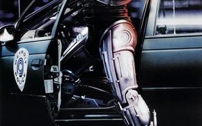 Robocop, Peter Weller, car