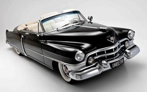 background, Cadillac, black, cabriolet, Cadillac, CLASSICS, Sixty-Tu