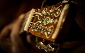 гитара, музыкальный инструмент, струны