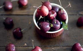 широкоформатные, ягода, фон, еда, широкоэкранные, полноэкранные, обои, вишня