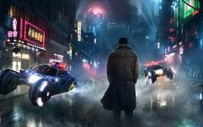 Blade Runner, Deckard, street