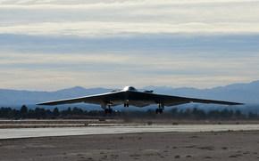 аэродром, взлёт, бомбардировщик, стратегический