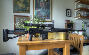cucina, arma