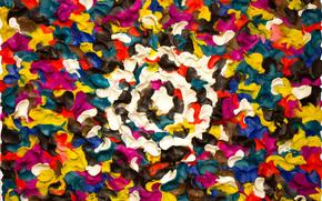 Пластилинер, пластилин, пластилиновая живопись, маратзакиров.ком, отпечатки пальцев