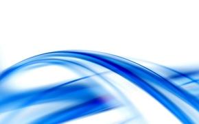 carta da parati, piegatura, onda, banda, blu, linea, arco