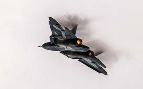 Рисунок, Турбины, ВВС, истребитель, многоцелевой, ПАК ФА, Авиация, Россия