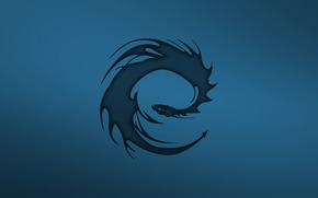 minimalism, dragon